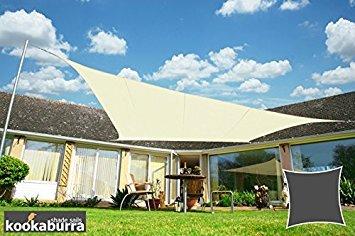 Tenda A Vela Quadrata : Tende a vela kookaburra quadrata m avorio tessuto