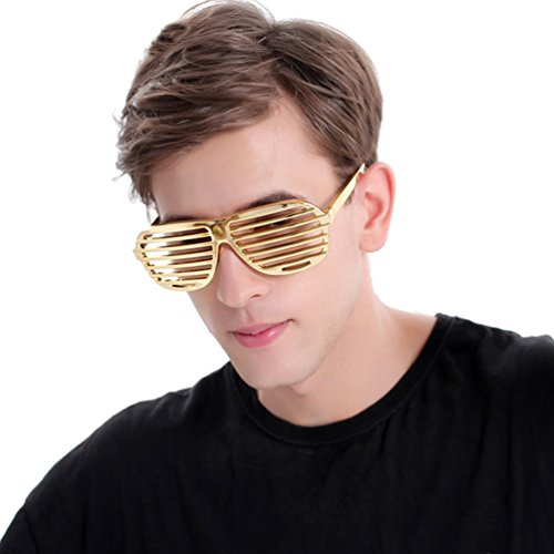 Ponce Fashion West Style Shutter Shades Costume Glasses Party Props - Shutter Glowing Shades