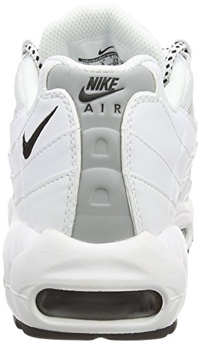Homme black 95 Course Max Nike White 109 de Black Blanc Air Chaussures Yvw667q