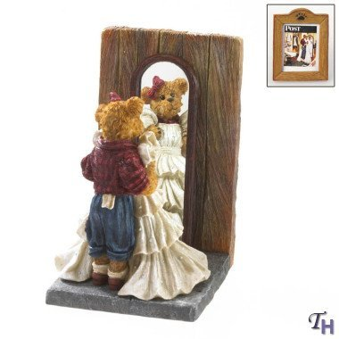 Boyds Bears Resin Prom Dress Norman Rockwell Bearstone - Resin 5.00 IN