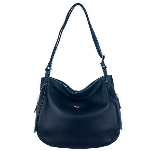 Zip Calf Leather Large Tote - 9