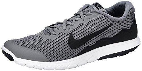 nike-mens-flex-experience-rn-4-cool-grey-black-black-running-shoe-12-men-us