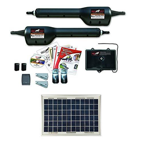 Mighty Mule MM262 Solar Package - Light Duty Dual Gate Opener w/Solar Panel (10 Watt Panel)
