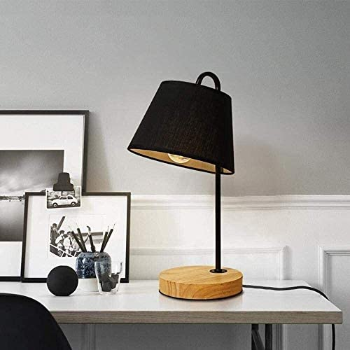 Bee Modern, Nordic, Simplistic, Minimalist, Solid Wooden LED Desk Lamp, Nightlight for Bedroom, Study, Dormitory with Free 3W LED Bulb, White High Taste