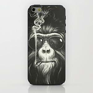 Smoking Orangutan Pattern hard Case for iPhone 6