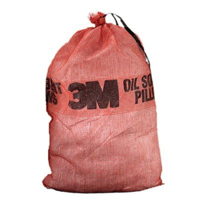 Petroleum Sorbent Pillows - 5''x14''x25'' pillowsoil sorbent by 3M