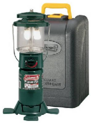 Coleman Two-Mantle Propane Lantern with Case, Outdoor Stuffs