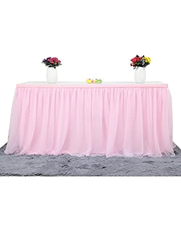 Amazon Com Table Skirts Home Kitchen