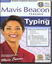 Picture of a Mavis Beacon Typing 17 OLD 705381100768