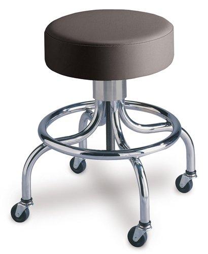 Spin-Lift Adjustable Stool - No Backrest, 4-Leg
