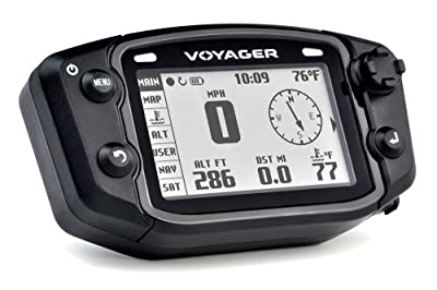 Trail Tech 912-4014 Voyager Stealth Black Moto-GPS Computer from Trail Tech