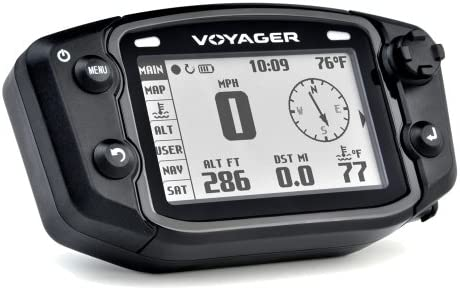 Trail Tech 912-401 Voyager Stealth Black Moto-GPS Computer