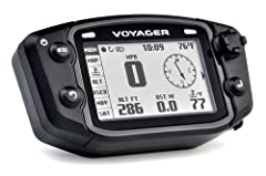 Voyager is like no other GPS you have seen on the market. The one and only GPS designed and manufactured for off-road. Whether you ride motorcycles, ATVs, snowmobiles or 4 wheel drives, Voyager is your unit. Display: The Voyager 400 x 240 WQV...