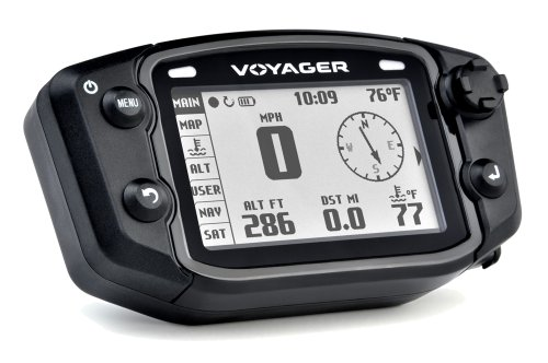 Trail Tech 912-402 Voyager Stealth Black Moto-GPS Computer For Sale