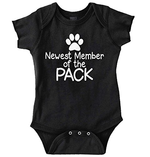 Kennel Pack - Brisco Brands New Member Pack Funny Shirt Cute Sarcastic Newborn Gift Idea Romper Bodysuit