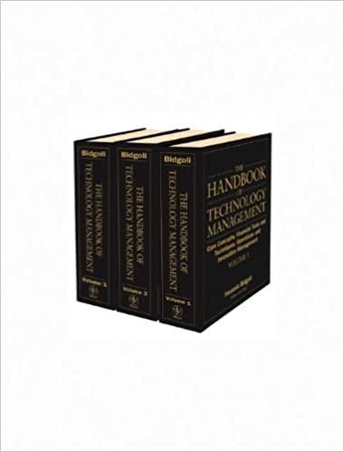 The Handbook of Technology Management