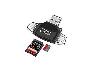 LridSu Portátil y Conveniente 4 en 1 portátil Universal ...