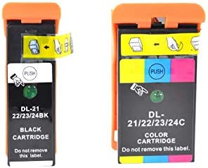 2//PK 2BLKV715W Series 21 SuppliesMAX Compatible Replacement for Dell P513//P713//V313//V515//V715W Black High Yield Inkjet