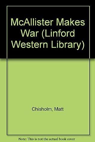 book cover of McAllister Makes War