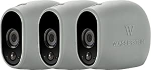 3 x Silicone Skins for Arlo Smart Security - 100% Wire-Free Cameras — by Wasserstein