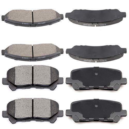 2009-2011 Honda Pilot Front Ceramic Brake Pads New