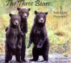 The Three Bears With REAL Photographs ()