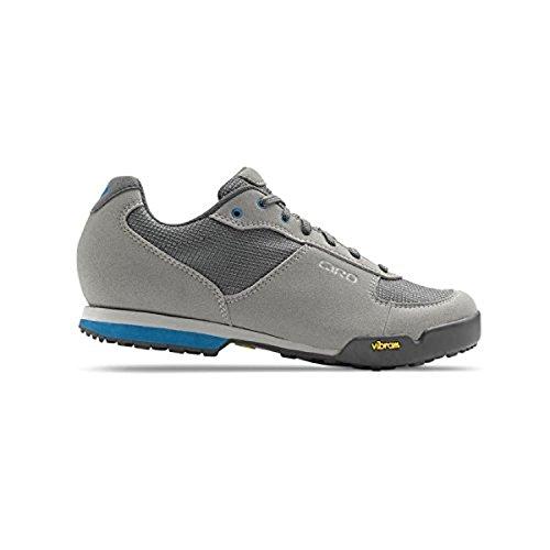 Giro Petra VR Schuhe & E-Tipp Handschuh Bundle Titanium / Blaues Juwel