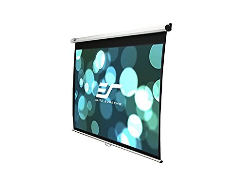 Elite Screens Manual SRM Series, 113-inch 16:10, Slow Retract Pull Down Projection Projector Screen, Model: M113NWX-SRM by Elite Screens