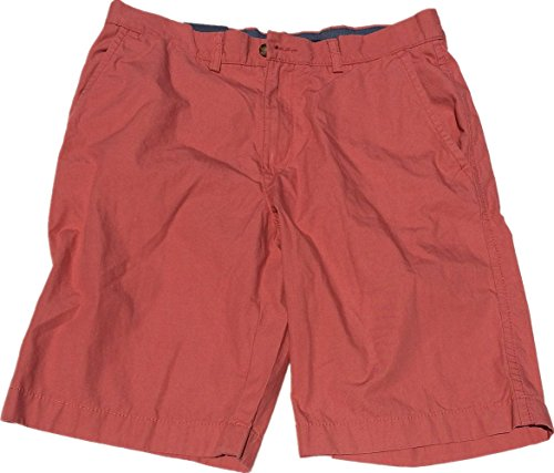 Tommy Hilfiger Mens Flat Front Shorts (40W, Sconset Red)
