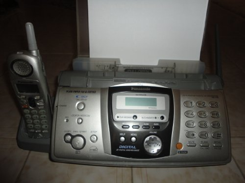 Panasonic KX-FPG379 Fax/Copier Machine with Cordless Telephone(Attached to base) (Fax Machines Cordless Phones)