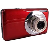 GordVE KG001 2.7 Inch TFT 5X Optical Zoom 15MP 1280 X 960 HD Anti-shake Smile Capture Digital Video Camera--Red