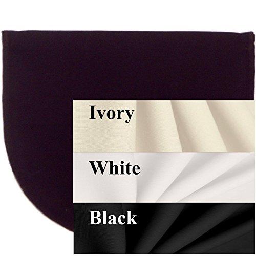 Set of 3 Cotton Modesty Panels No Lace Mock Cami Chemiset...