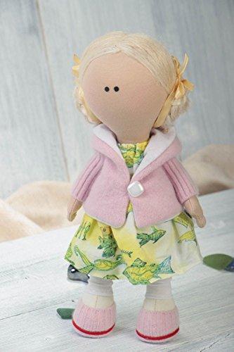 Handmade Rag Doll Childrens Soft Stuffed Toy Best Toys Fo...