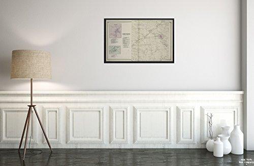 1866 Map of Philadelphia, Pa. Etna Villag; Etna Business Directory; Varna Villag; Varna Business Directory; Dryden Townshi; Dryden Township Business Directory; Malloryville Business Directory;