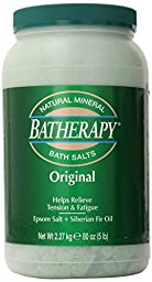 Queen Helene Batherapy Mineral Bath Salts, Original, 5 Pound [Packaging May Vary]