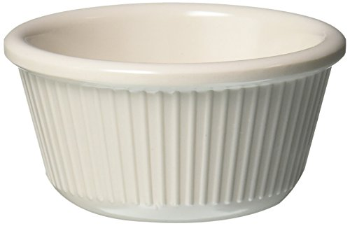 Winco RFM-3B Fluted Ramekins, 3-Ounce, Bone, 12-Pieces by Winco