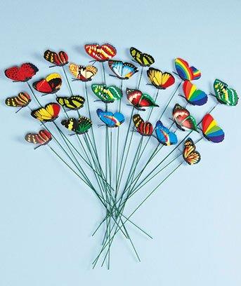 Buy butterfly planter picks