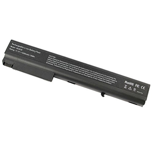 - Fancy Buying Compaq NX9420 Laptop Battery for HP Compaq 8510 8510W 8710W 8710P 8510P NC8430 NX7400 NX8200 NX8230 NX9400, fits P/N PB992A - 12 Months Warranty [6-Cell Li-ion 5200mAh]