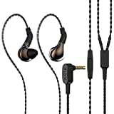 HiFiHear BLON BL03 in Ear Earphone,10mm Carbon Diaphragm Dynamic Drive Bass HiFi DJ in Ear Monitor, Diamond Mirror Process in