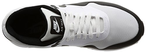 Nike Air Max 1 Mens Ultra 2.0 Essenziale Bianco / Nero 875.679-102 Bianco / Nero
