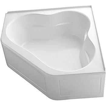Kohler K 1161 La 0 Tercet Bath White Recessed Bathtubs