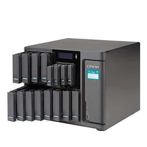 Qnap TS-1635-8G-US Cost-Effective, High-Capacity Quad-Core 16-Bay Business NAS by QNAP (Image #1)