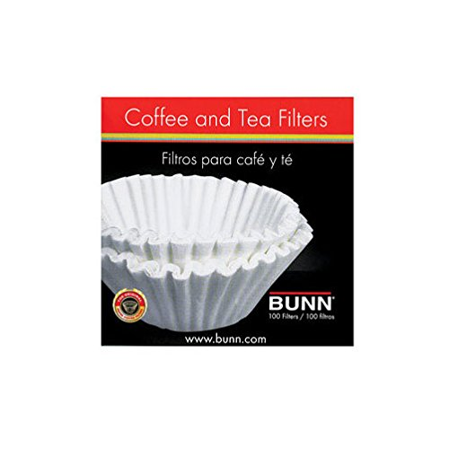 Bunn 10 cups Basket Coffee Filter-Mfg# BCF/100-B - Sold As 24 Units (PK/100)