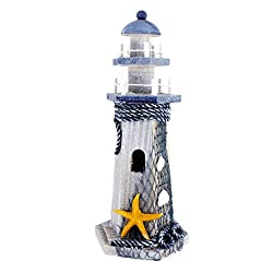 Starfish Wooden Lighthouse 10 High Nautical Themed Rooms Lighthouse Home Decor