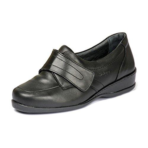 Sandpiper mujer EU 40 talla de Zapatos para Piel de color negro cordones Otra ARUfAqw