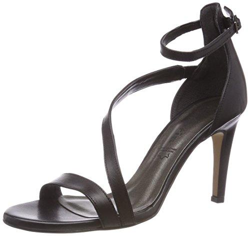 Bride Leather Black 003 Femme Tamaris 28384 Noir Cheville Sandales apwFqE4