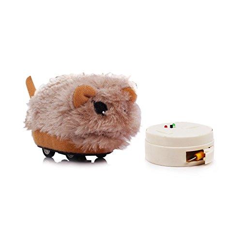 Goolsky ぬいぐるみ ハムスター かわいい RC 電子おもちゃ 初心者 贈り物 赤ちゃん クリスマス 誕生日 プレゼント ギフト 子供