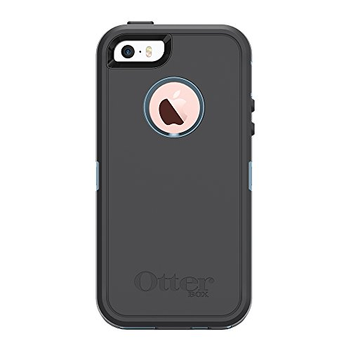 OtterBox DEFENDER SERIES for iPhone 5/5s/SE - Retail Packaging - STEEL BERRY (WHETSTONE BLUE/SLATE GREY)
