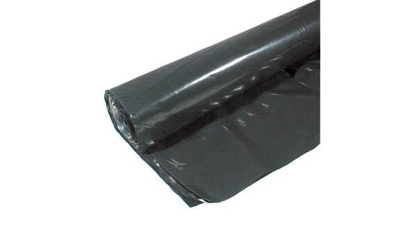10-Foot by 25-Foot Warp Brothers 3CH10-B 3 Mil Black Plastic Sheeting
