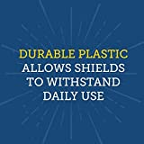 Really Good Stuff Plastic Privacy Shields for